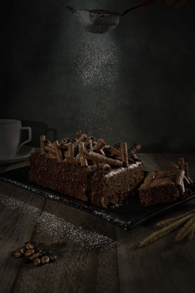 Kuchen shot Food photography
